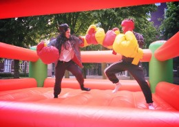 Animation ring de boxe Nantes