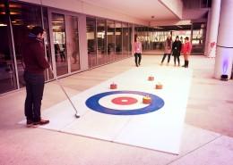 Animation Curling Paris avec Be Event Sensation