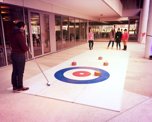 Animation Curling Paris avec Be Event Sensation