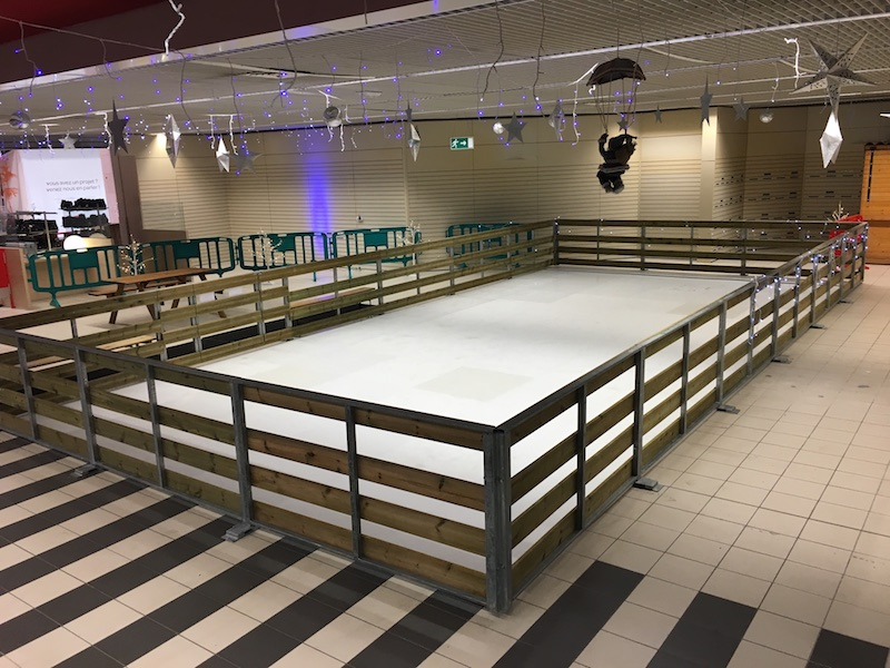 Installation de nos patinoires artificielle sur toute la France