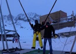 Be Event Sensation présent en Andorre pour des animations à sensations fortes tout l'hiver