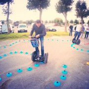 Initiation sur circuit en Gyropode Segway