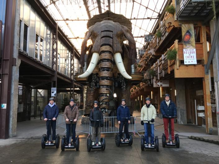 Balade et initiation en Gyropode Segway dans le centre ville de Nantes