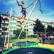 Animation trampoline pour association au Mans