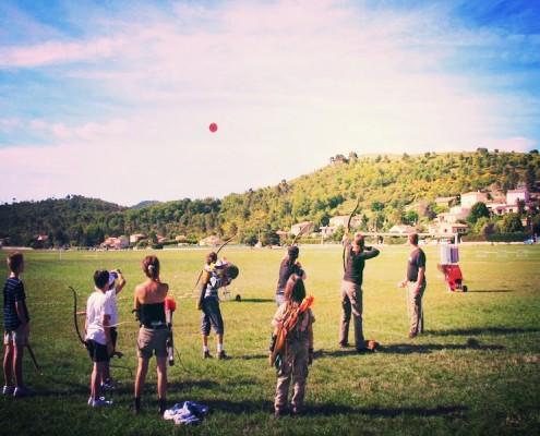 Animation Ball-Trap flèche en Bretagne avec Be Event Sensation