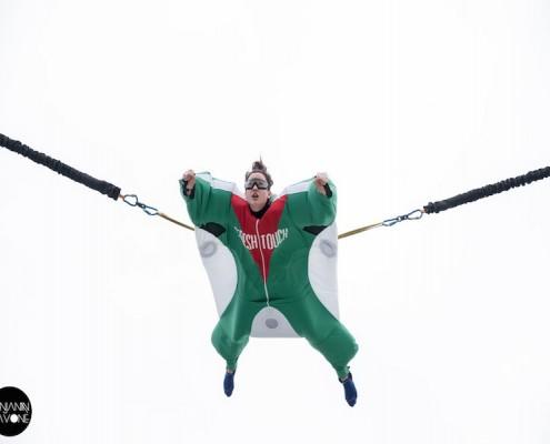 Prestation avec notre simulateur de chute libre sur Marinade