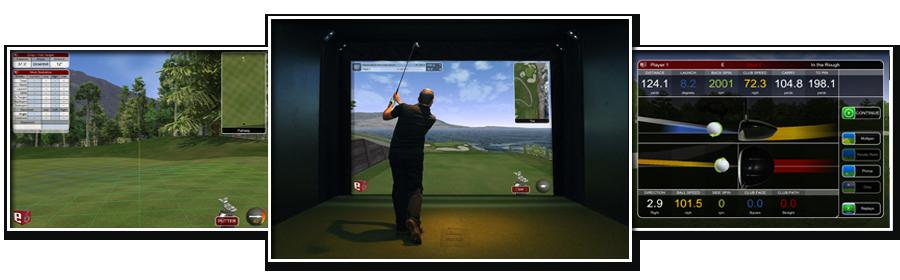 Prestation d'animation pour entreprise avec le simulateur 3D Golf BORDEAUX
