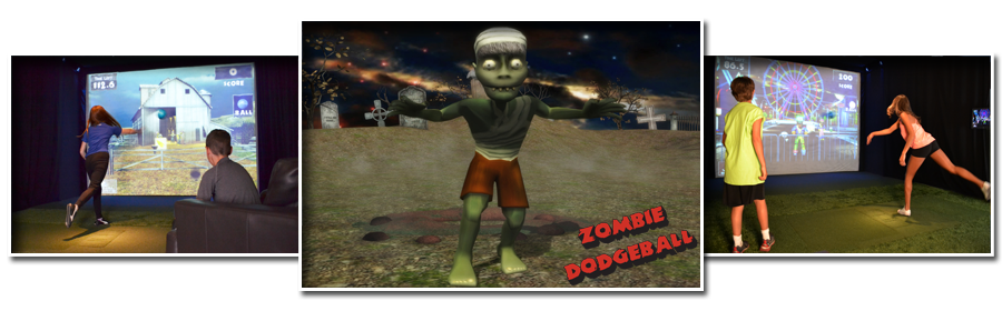 Prestation d'animation pour entreprise avec le simulateur 3D Dodgeball RENNES