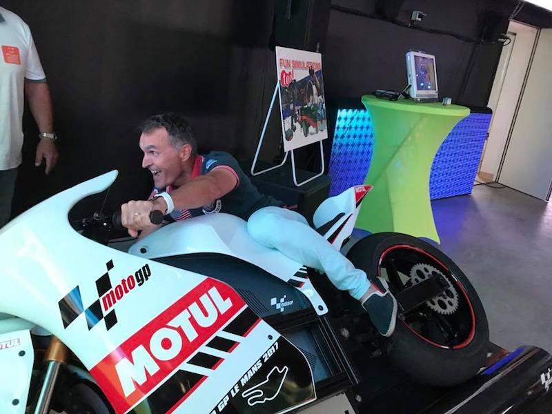 Simulateur de moto GP pour tous vos événements