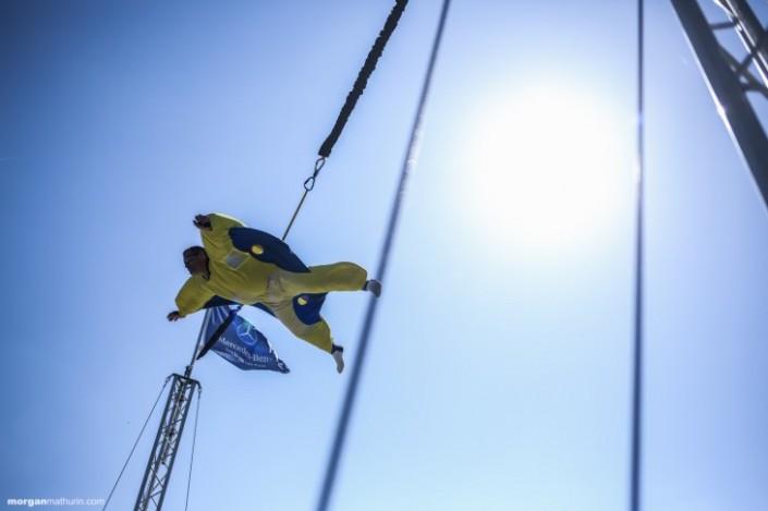 Be Event avec le simulateur de chute libre sur le circuit Paul Ricard au Castellet