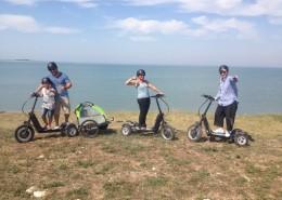 Visite de Nantes avec nos engins électriques Bike Board
