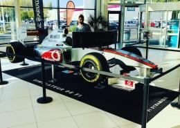 Découvrez le nouveau simulateur de F1 sur Vérin