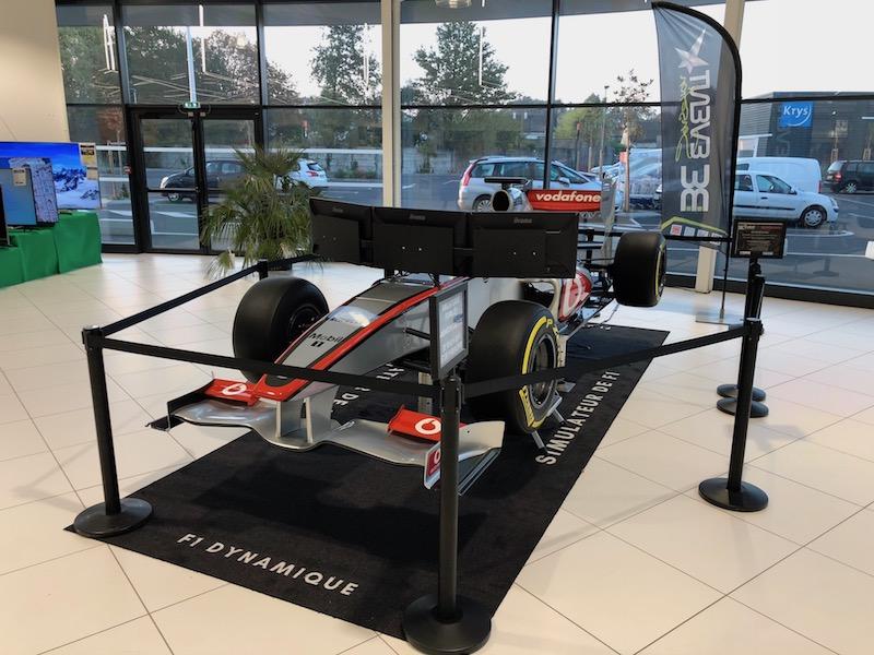 Pilotez une F1 sur simulateur avec Be Event Sensation