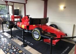 Simulateur de F1 en itinérance partout en France avec Be Event Sensation