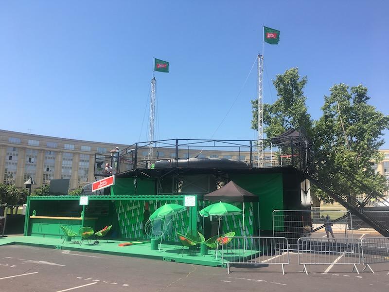 Simulateur de chute libre et Skydiving au FISE 2017 à Montpellier