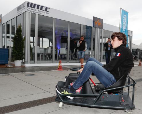 Crazy Cart XL au championnat WTCC de Hongrie