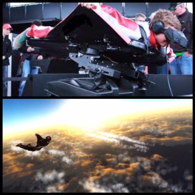 Présentation du nouveau simulateur de chute libre 3D pour des vols en Wingsuit