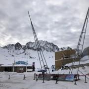 Be Event présent en Andorre - Pas de la Case avec le Bungee Ejection, manège éjector