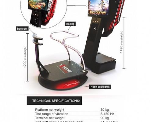 Be Event Sensation vous présente la plate forme multi jeux dynamique en réalité virtuelle