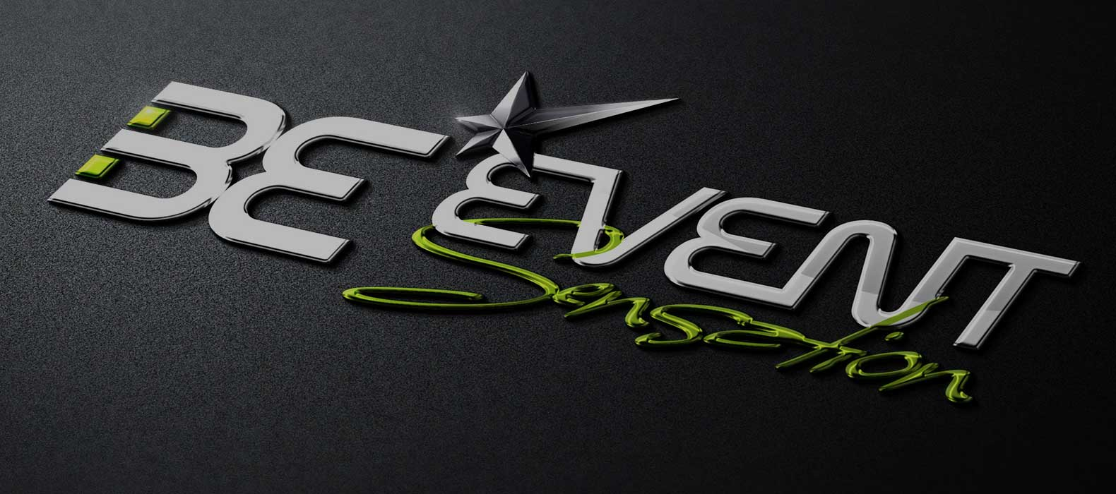 be event sensation logo 3d