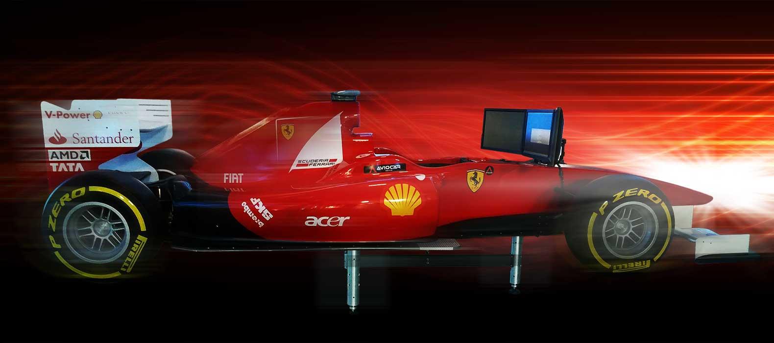 simulateur f1 ferrari