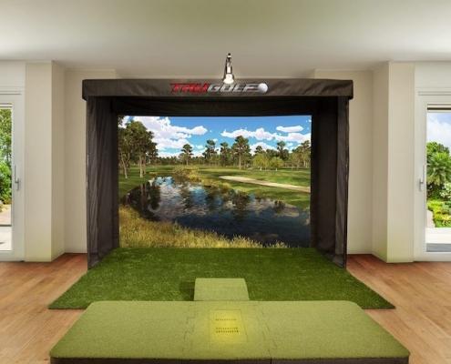 découvrez le golf avec le simulateur de Be Event Sensation