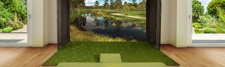 Découvrez le golf avec un simulateur tous public 100% golf