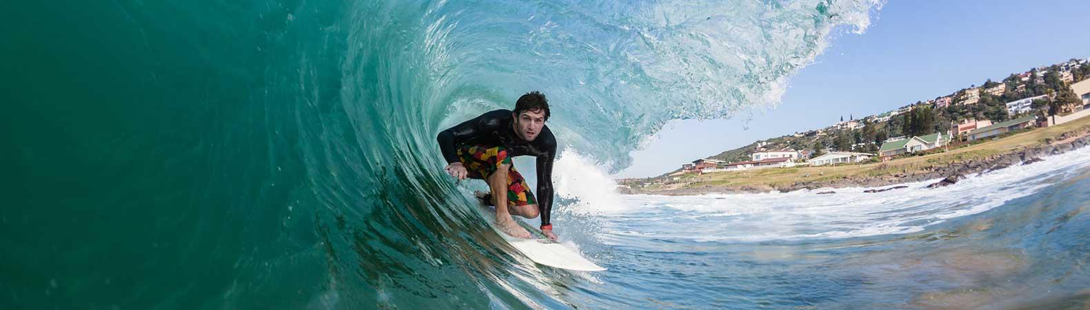 surf tube vague