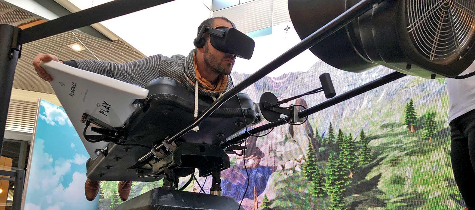 simulateur skydive